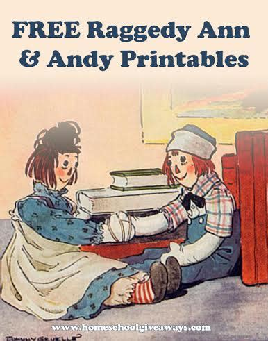 free raggedy and andy printables free homeschool deals 615 | raggedy ann