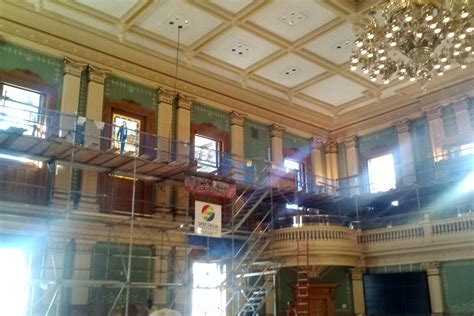 Chamber Renovations Uncover Surprises At The Colorado