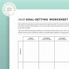 Goal Setting Worksheets For Your Success Successgrid