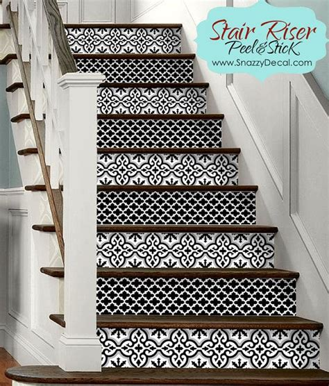 Removable Stair Riser Vinyl Decal by 15pc Stair Riser Vinyl Strips Removable Sticker Peel