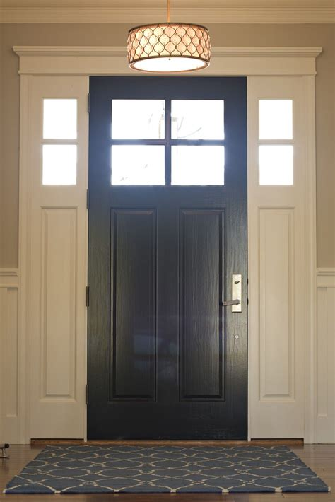 bdg style must paint interior of my front door black