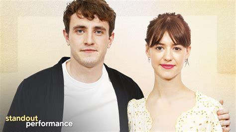 'Normal People' Stars Paul Mescal and Daisy Edgar-Jones ...
