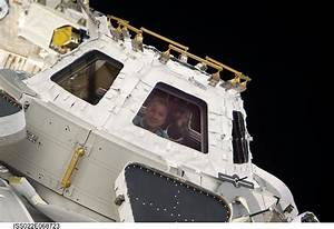 Photo: Looking Out Of The Cupola - SpaceRef