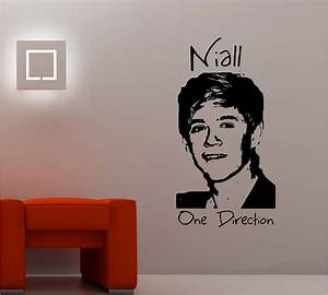 Niall horan one direction wall art sticker vinyl lounge