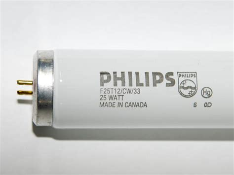 philips 25 watt 33 inch t12 cool white fluorescent