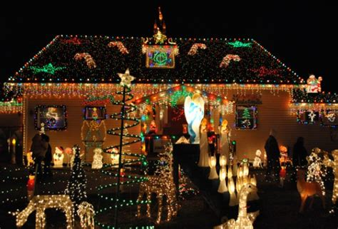 the top residential light displays in the
