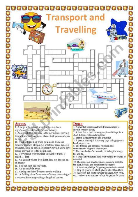 travelling crossword yoktravelscom