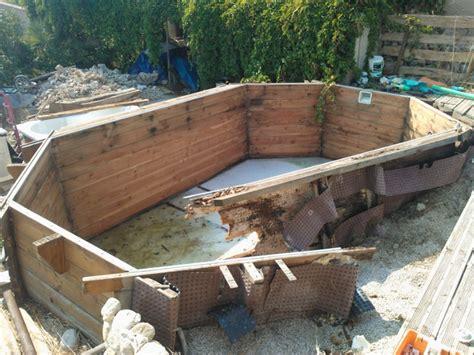 id 233 e piscine bois enterrer