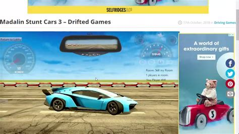 Choose your favorite supercar, and start doing crazy races against other. Madalin Stunt Cars 3 Drifted Games Drifted com Google Chrome 2019 12 12 10 42 29 - YouTube