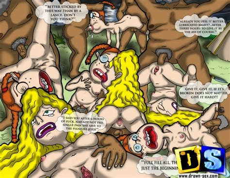 Debbie gets her pussy and ass pounded by wild black native tribe - CartoonTube.XXX