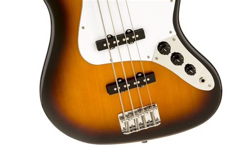 Squier® Affinity Jazz Bass®, Rosewood Fingerboard, Brown