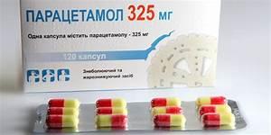 Парацетамол от остеохондроза