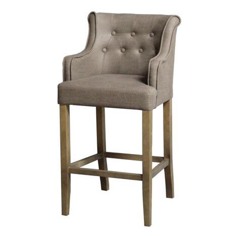 chaise capitonn chaise de bar avec accoudoir maison design bahbe com