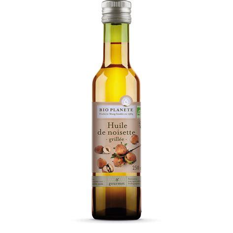 huile de noisette cuisine huile de noisette grillé gamme gourmet produits bio