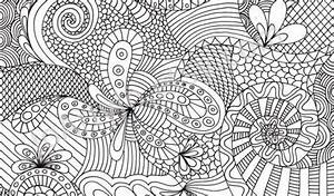 Printable Adult Coloring Pages Abstract - AZ Coloring Pages