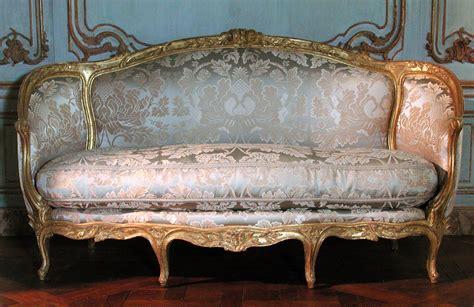 sofa canape rococo revisited