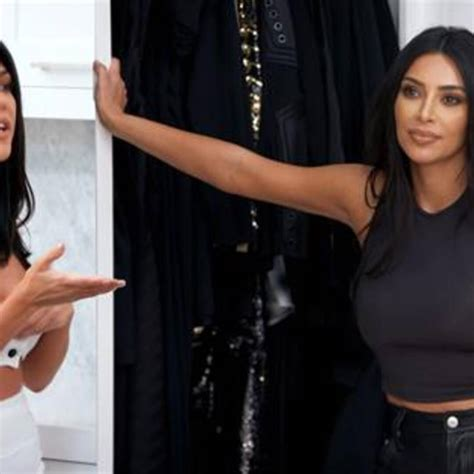 Kim & Kourtney's Feud Gets Physical: