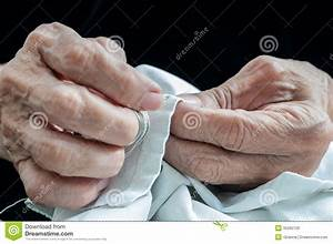 Hands Of Elderly Person Royalty Free Stock Images - Image ...