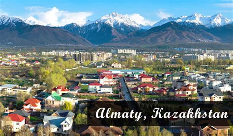 Almaty, Kazakhstan - a travel blog - Julie Tetel Andresen ...