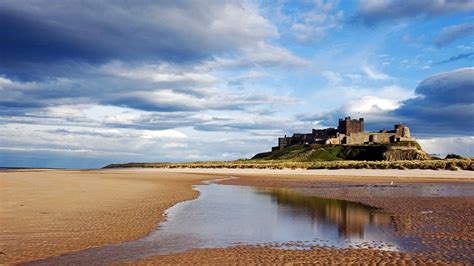bamburgh castle bamburgh northumberland england nature