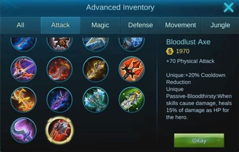 mobile legends items how to become the best player in mobile legends