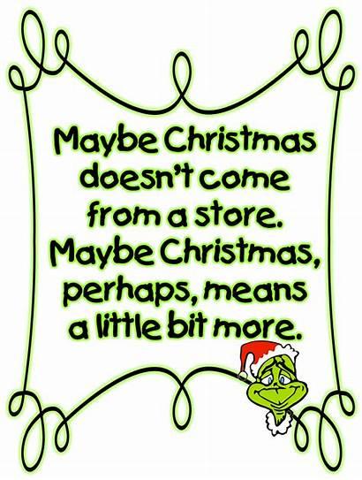 Grinch Christmas Clipart Stole Qoates Quotes Transparent