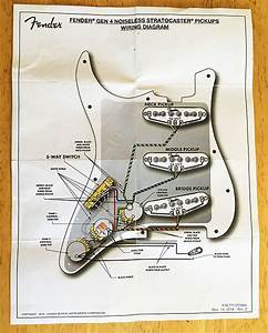 Fender Strat Pick Up Wire Diagram