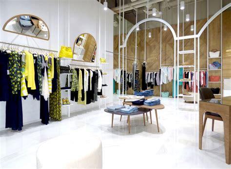 modular homes interior dresses modern boutique decor by think forward design