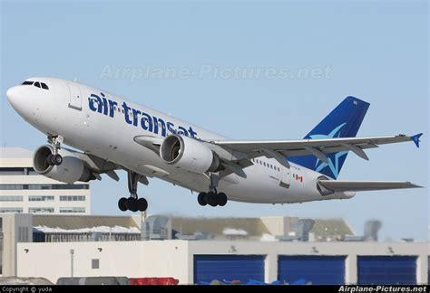 air transat montreal toulouse c glat air transat airbus a310 at montreal elliott trudeau intl qc photo id 36359