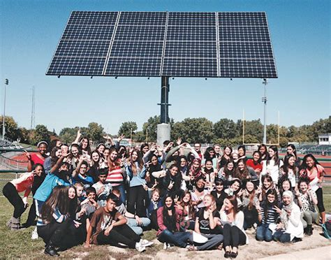 wbhs earth club aims solar energy power science department
