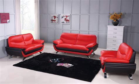 multi toned contemporary leather sofa set  metal legs