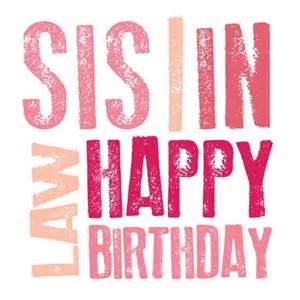 Happy Birthday Sister Law Quotes