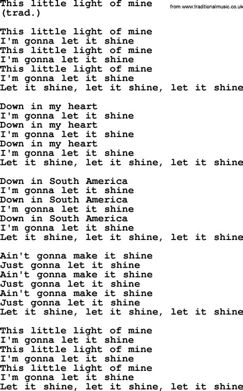 this light of mine by the byrds lyrics with pdf