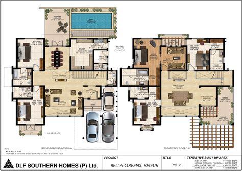 home layout design dlf greens bannerghatta road bangalore floor