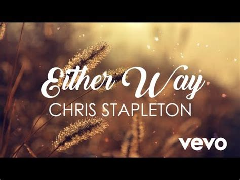 chris stapleton youtube