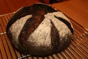 Dark Pumpernickel Bread with Raisins