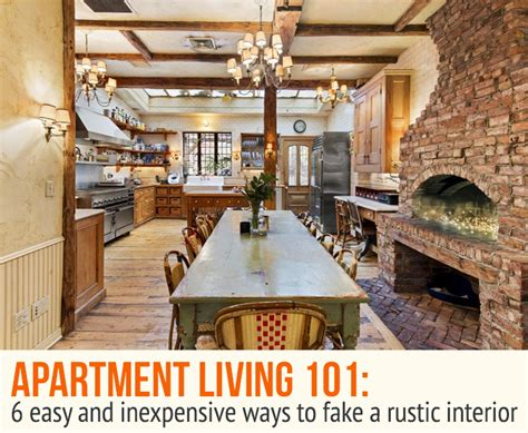 rustic interieur 6 easy and inexpensive ways to fake a rustic interior 6sqft