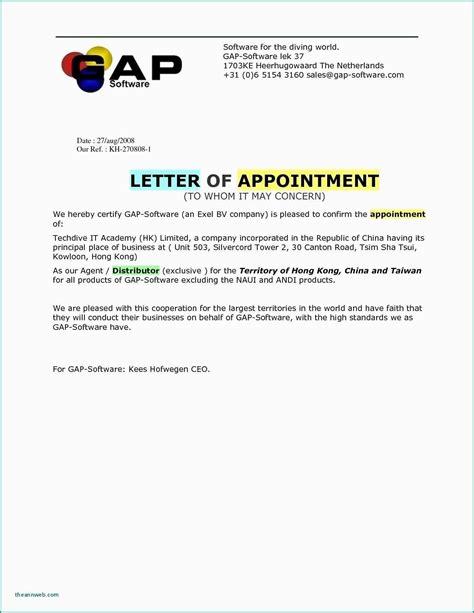 valid offer letter format  software