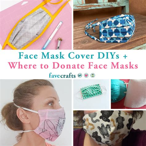 face mask cover diys   donate face masks