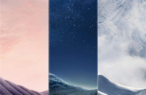 descarga los fondos de pantalla y el nuevo tono de los galaxy s8