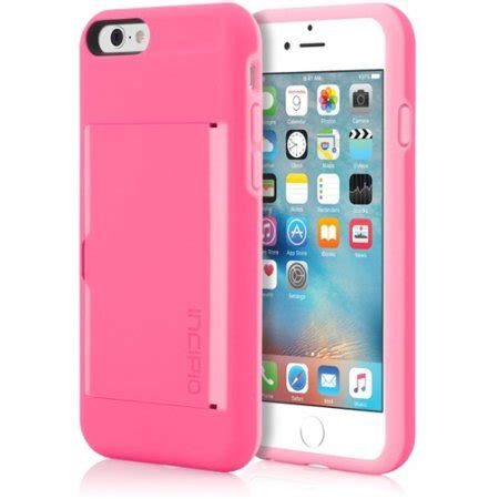 Whether you want to ditch your wallet for good, or have the option to travel light on occasion, an iphone case with slots for credit cards, id and cash is a handy tool. Incipio STOWAWAY Credit Card Case with Integrated Stand for iPhone 6/6s - Walmart.com