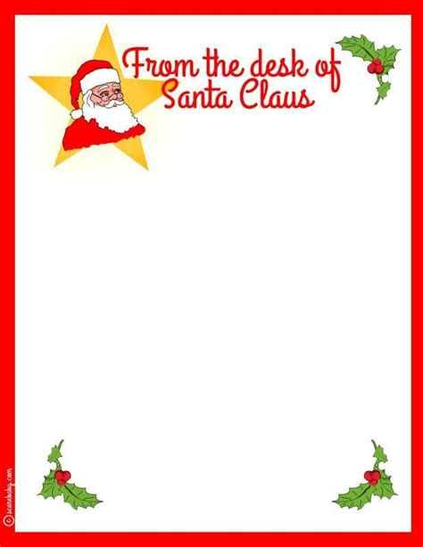 From the desk letterhead with the various shop letterhead makes upon the marketplace could be e marbled cards will help to make a lovely table item intended for the receiver additionally to mailing all of them the grateful concept from the desk letterhead free letterhead templates these letterhead. Santa Stationary: Free and Printable (With images) | Christmas lettering, Santa letterhead ...