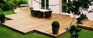 construire sa terrasse en bois soi meme With refaire une terrasse pas cher