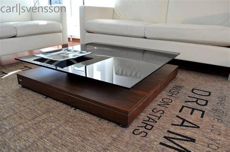 couchtisch nussbaum glas design couchtisch v 570 nussbaum walnuss get 246 ntes glas carl svensson kaufen bei design impex