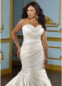 wedding dresses for the full figured bride ewedding With full figured women wedding dresses