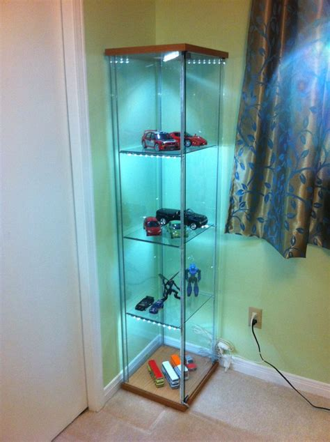 ikea detolf cabinet malaysia detolf shelf with lights diy rock ethos