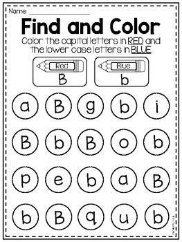letter  alphabet worksheets   teaching pal tpt