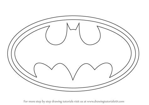 learn   draw batman logo batman step  step