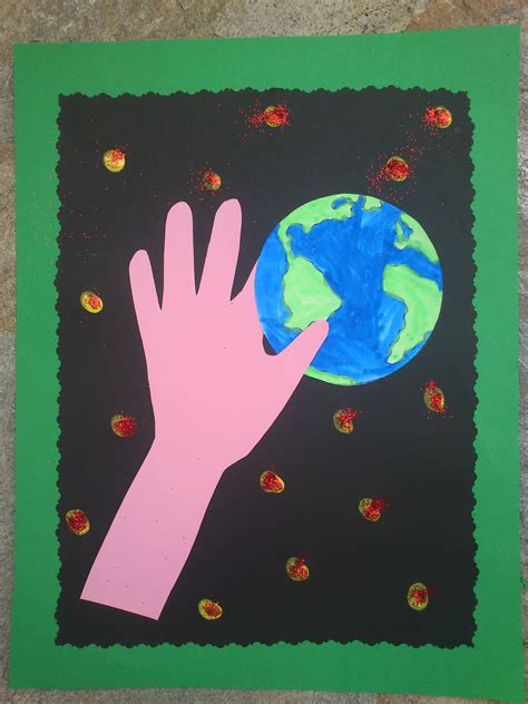 earth   hands fun family crafts