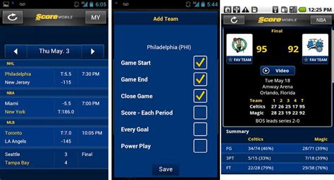 best sports app for android best android apps for baseball fans android authority